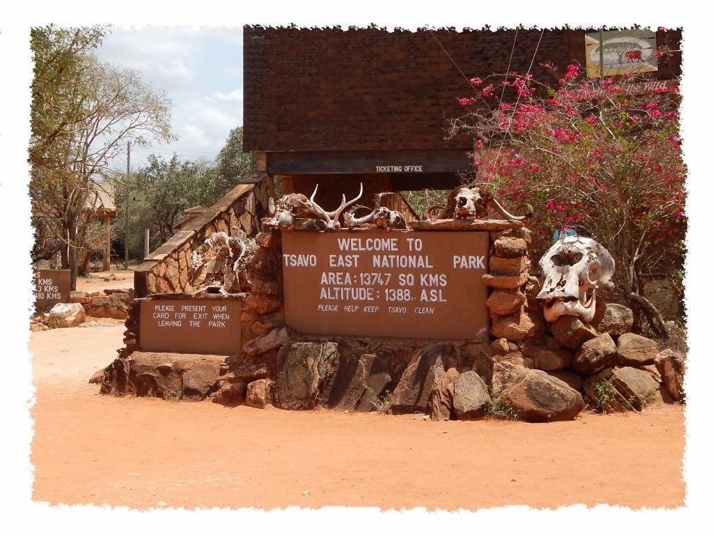 Willkommen im Tsavo East Nationalpark in Kenia