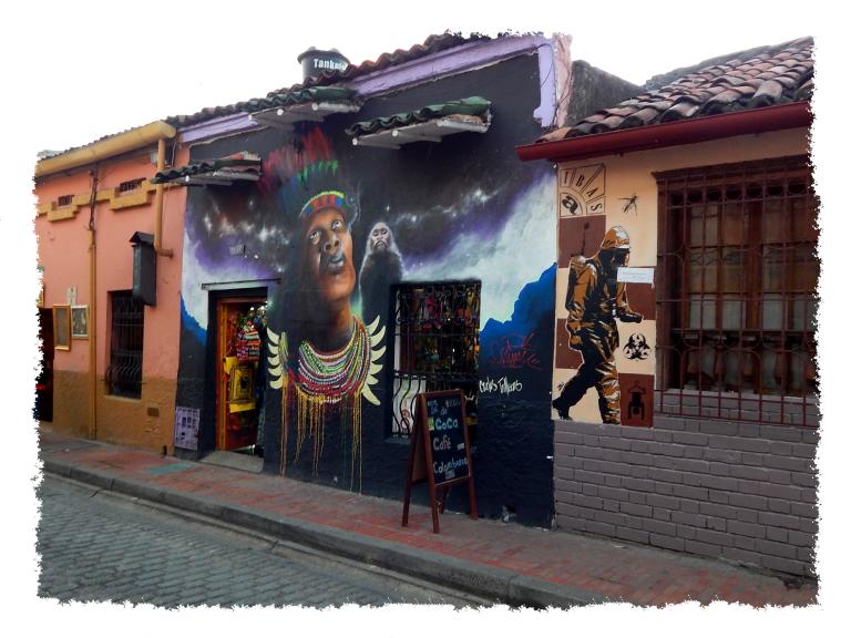 Grafitti in Bogotá