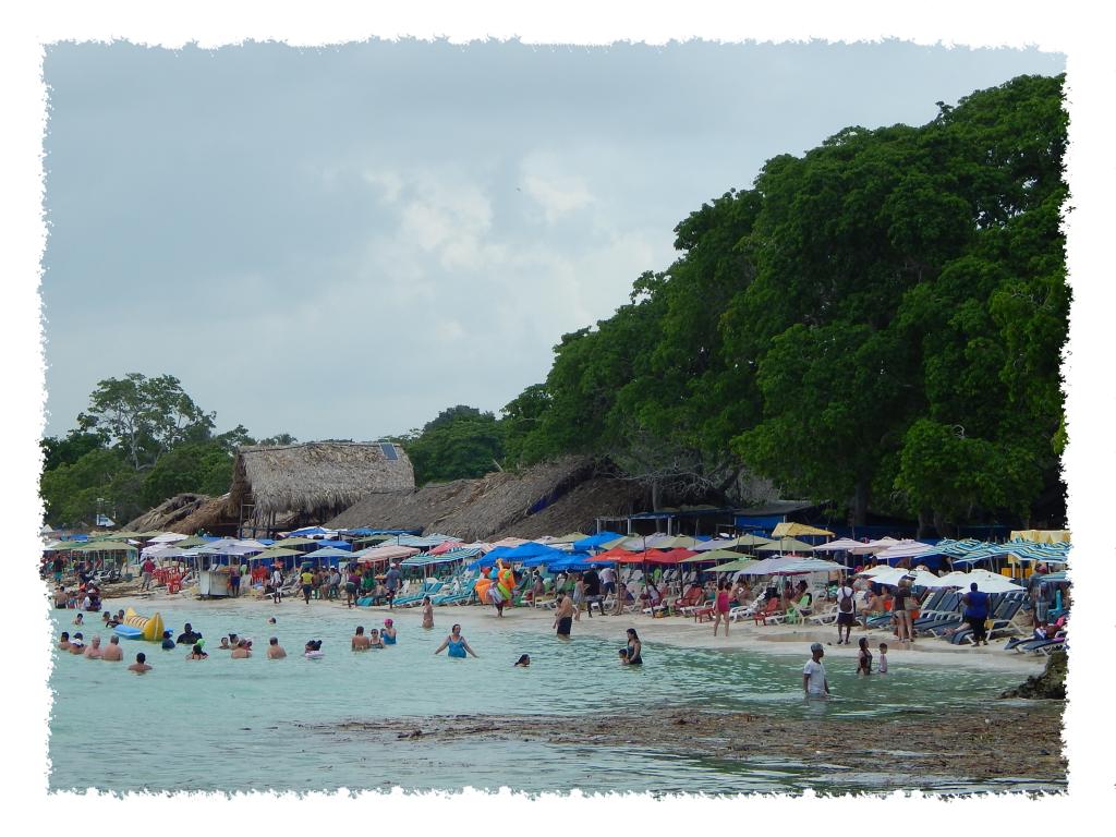 Playa Blanca in Barú nahe Cartagena