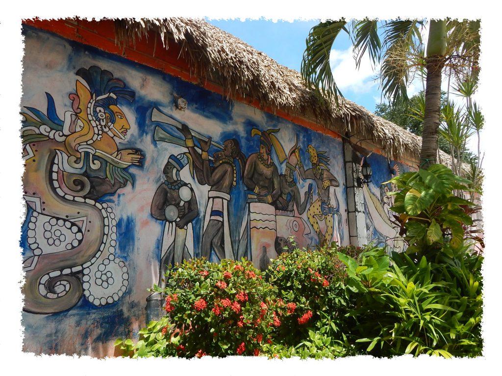 Maya Malerei in Mexiko