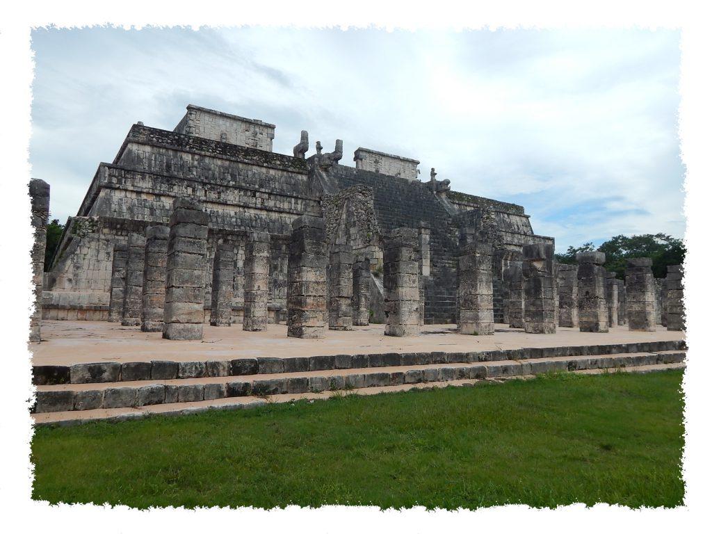 Ruinen in Chichén Itzá, Mexiko