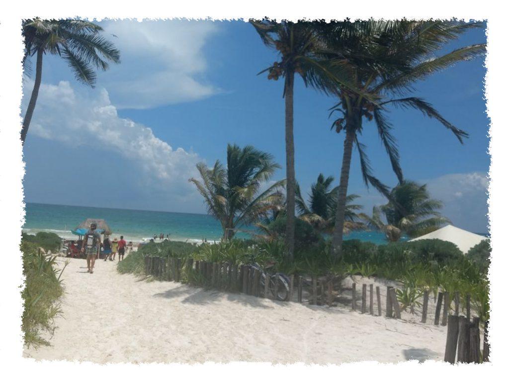 Playa Paraíso nahe Tulum, Mexiko