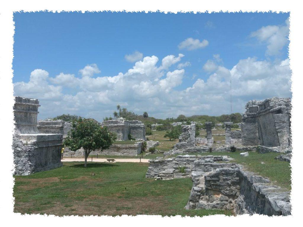 Ruinen in Tulum, Mexiko