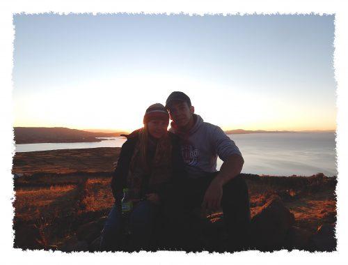 Hannah & Henrik am Titicacasee in Peru