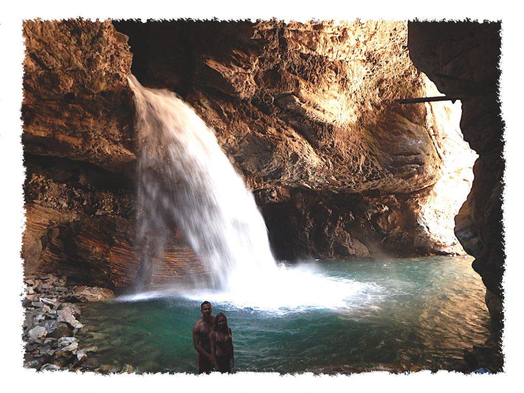 Cañón de Autisha Wasserfall