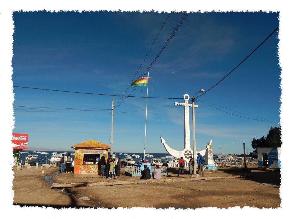 Der Hafen von Copacabana