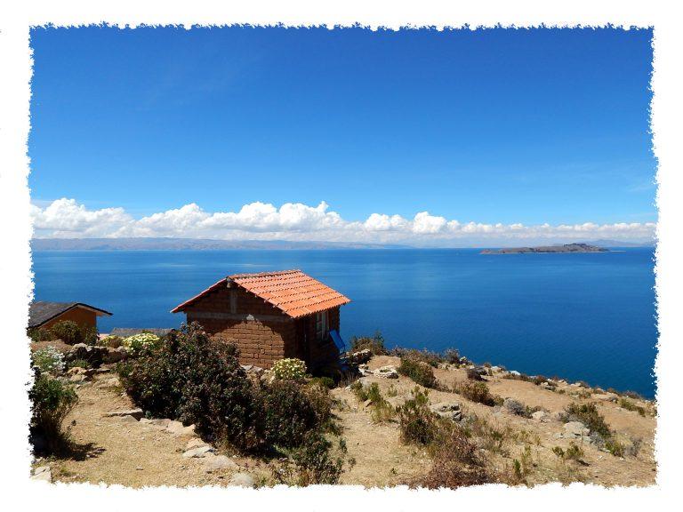 Die Isla del Sol liegt unweit von Copacabana entfernt