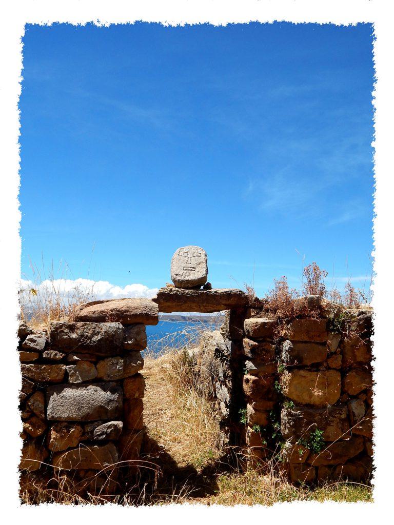 Steinformationen auf der Isla del Sol