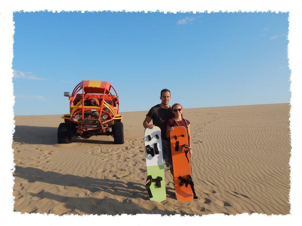 Paracas Sandboarden in Huacachina