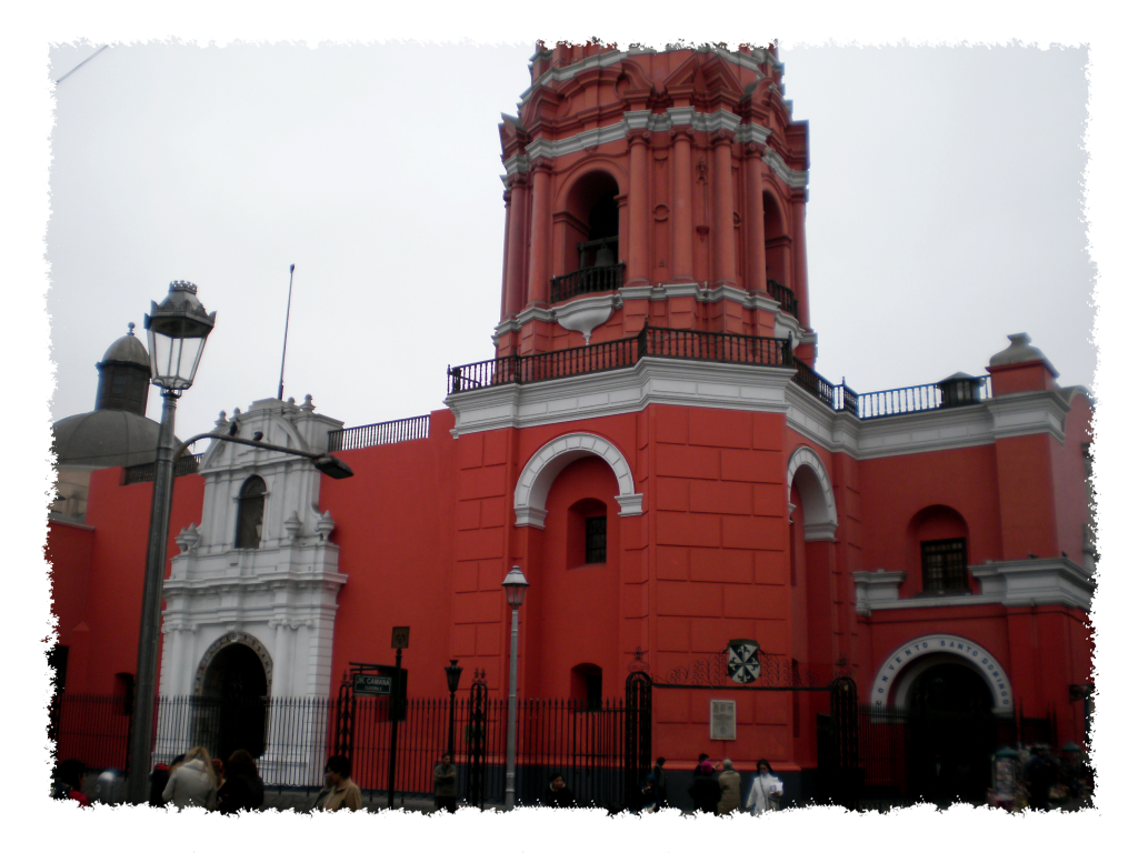 Lima - Rote Kirche