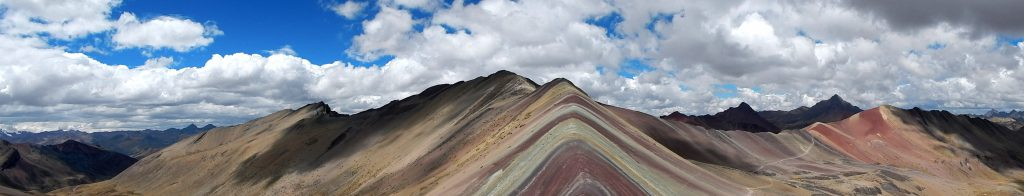 Panorama Rainbow Mountain