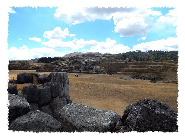 Sacsayhuaman Ruinen nahe Cusco