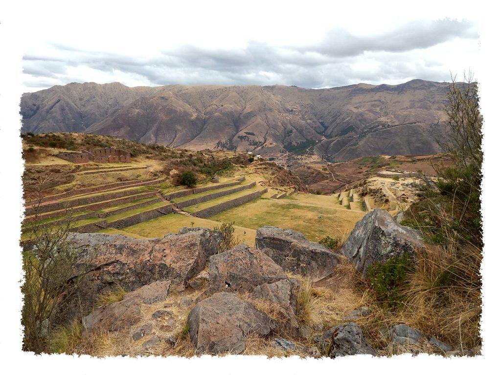 Tipon Landschaft nahe Cusco