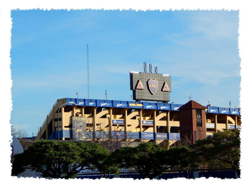 Stadio Bombonera in Buenos Aires
