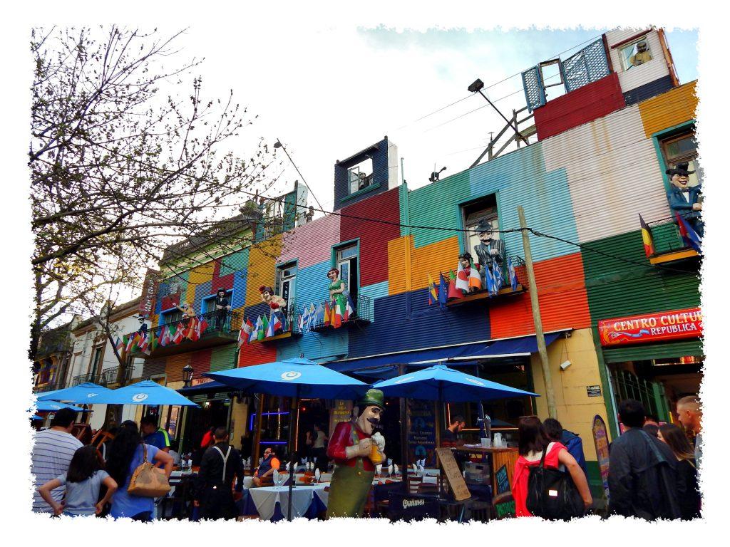 Barrio La Boca in Buenos Aires