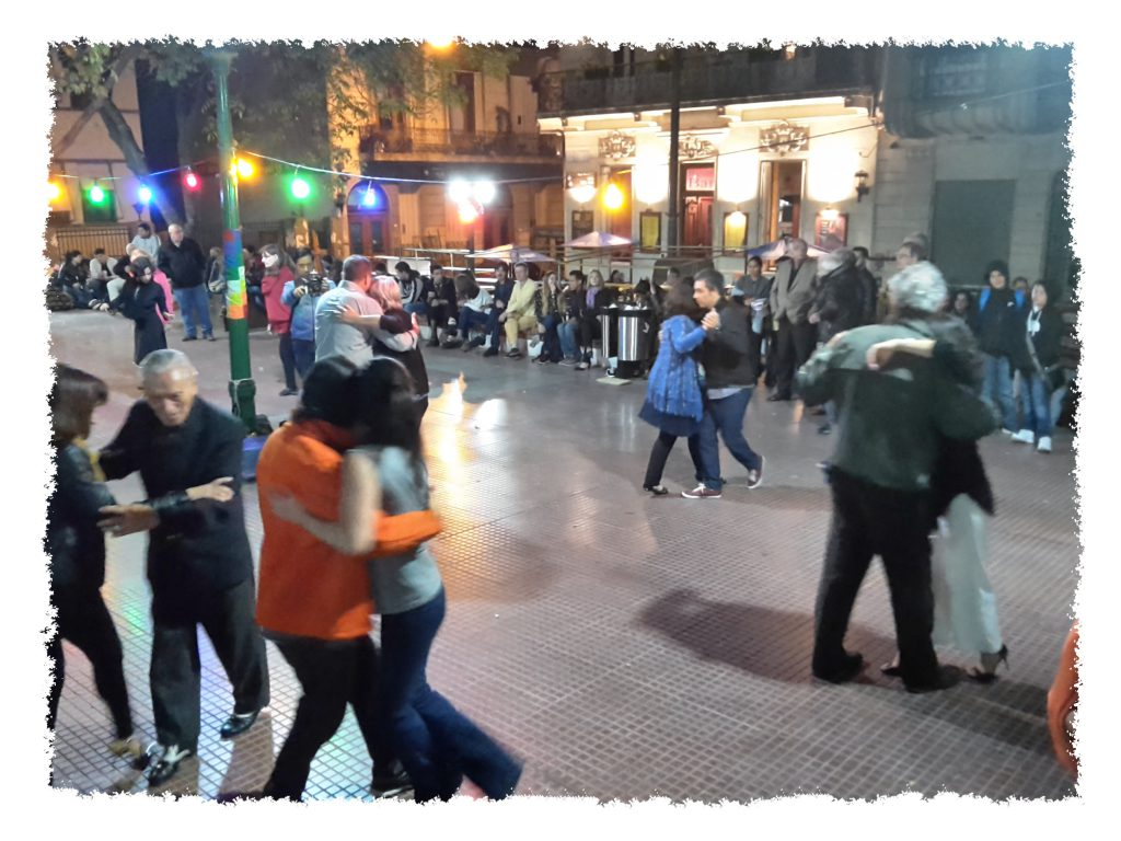 Milonga in Buenos Aires