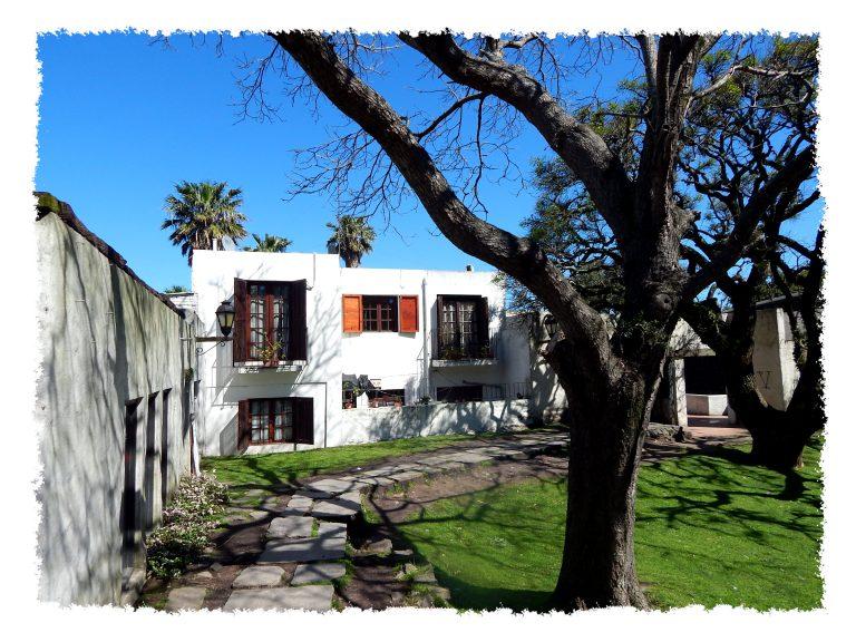 Koloniale Gebäude in Colonia del Sacramento