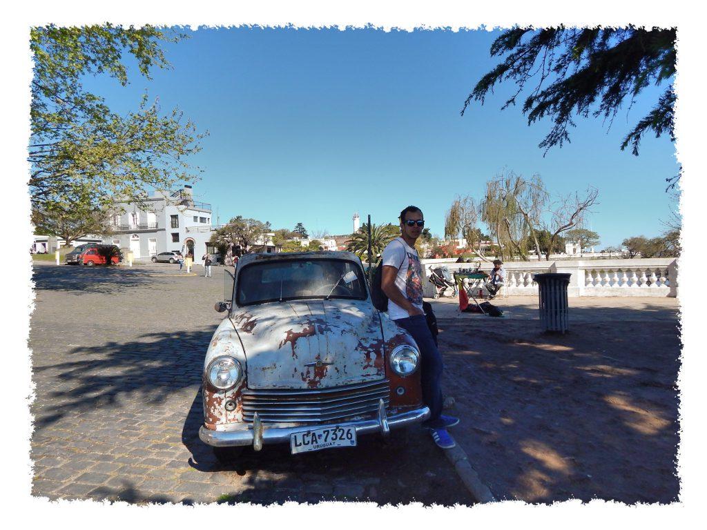 Oldtimer in Colonia del Sacramento