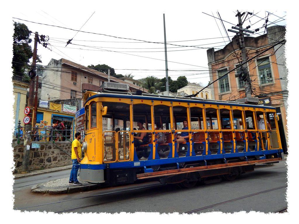 Tram in Santa Teresa, Rio de Janeiro