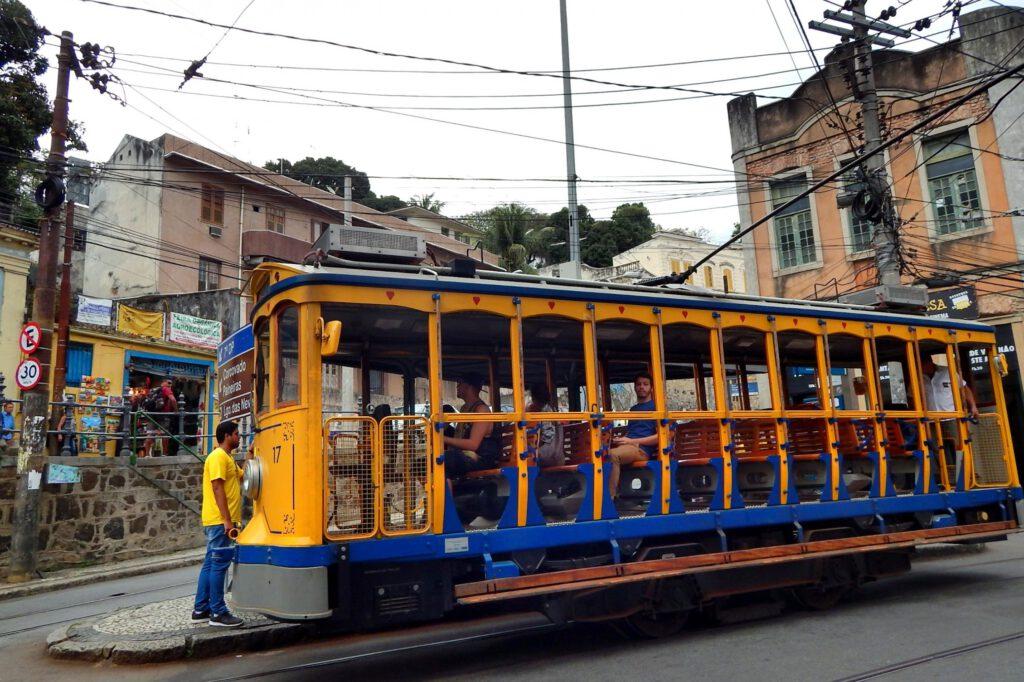 Rio de Janeiro Highlights - Tram in Santa Teresa