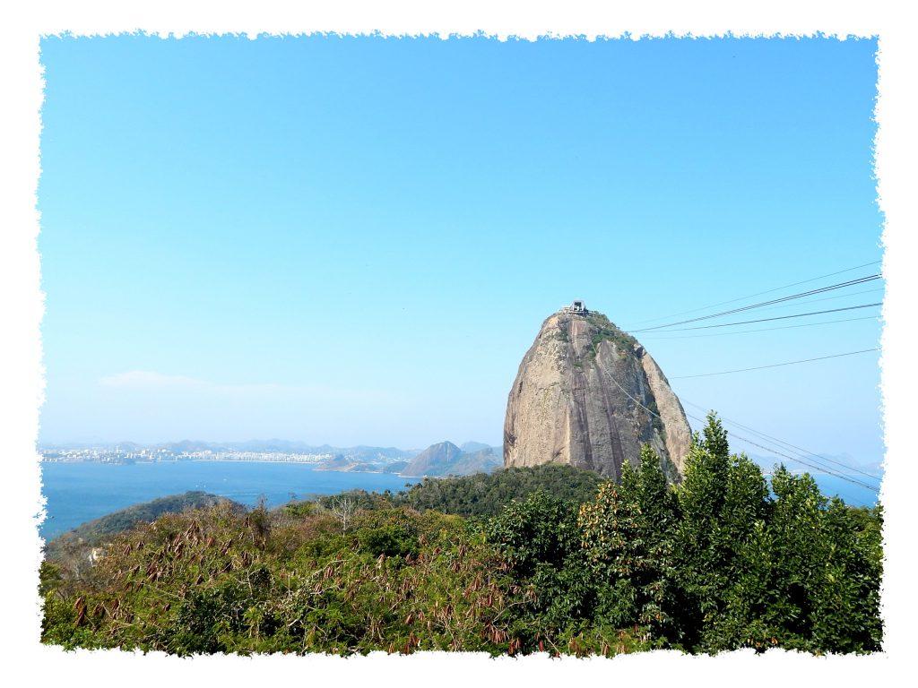 Blick auf den Zuckerhut von Rio de Janeiro
