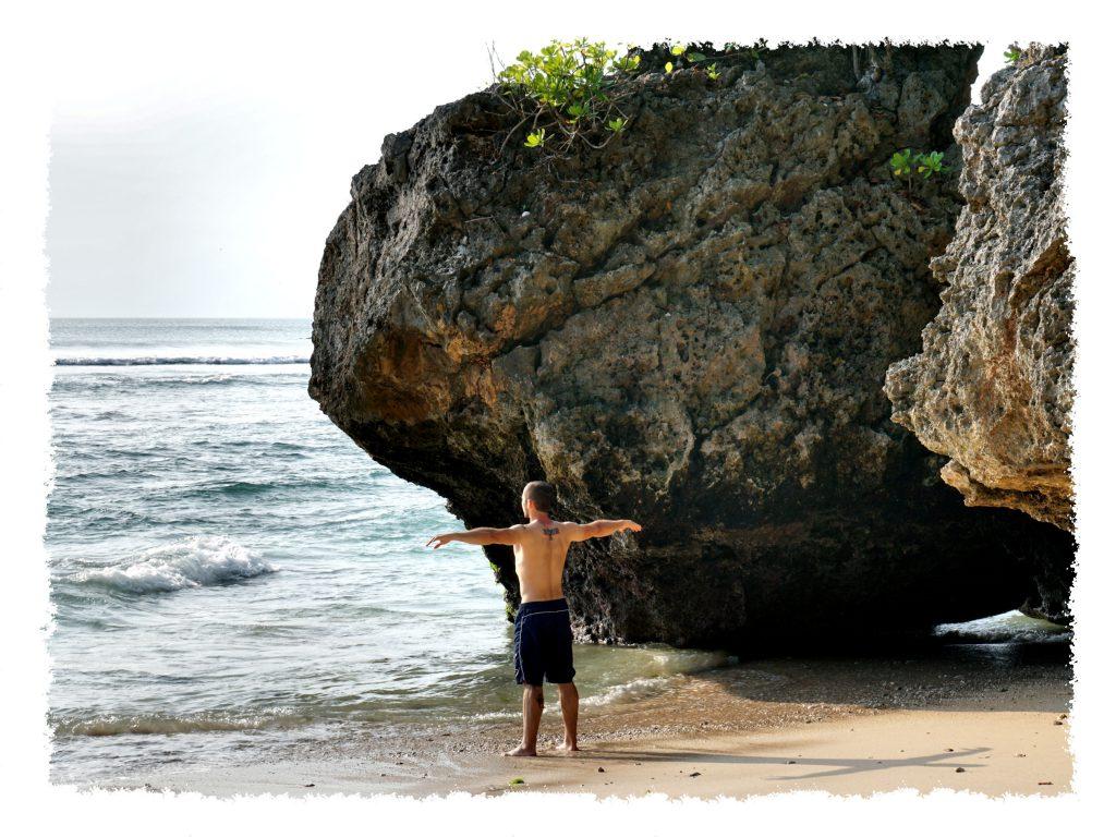 Was ist Heimat? Henrik am Strand