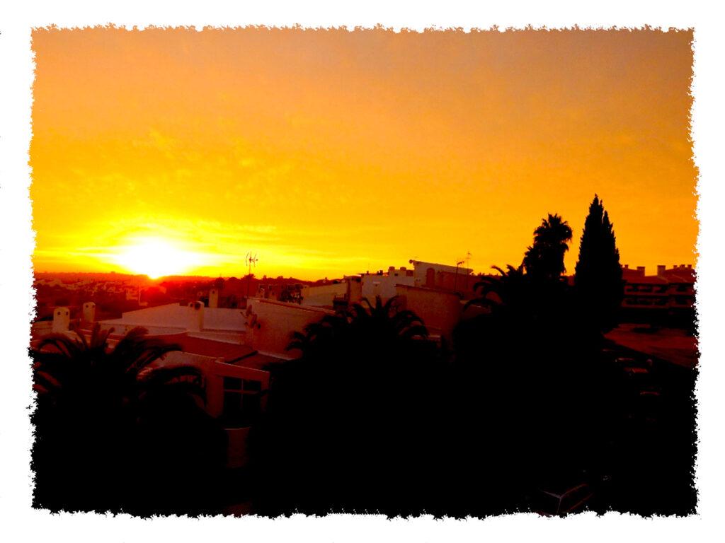Algarve - Sonnenuntergang
