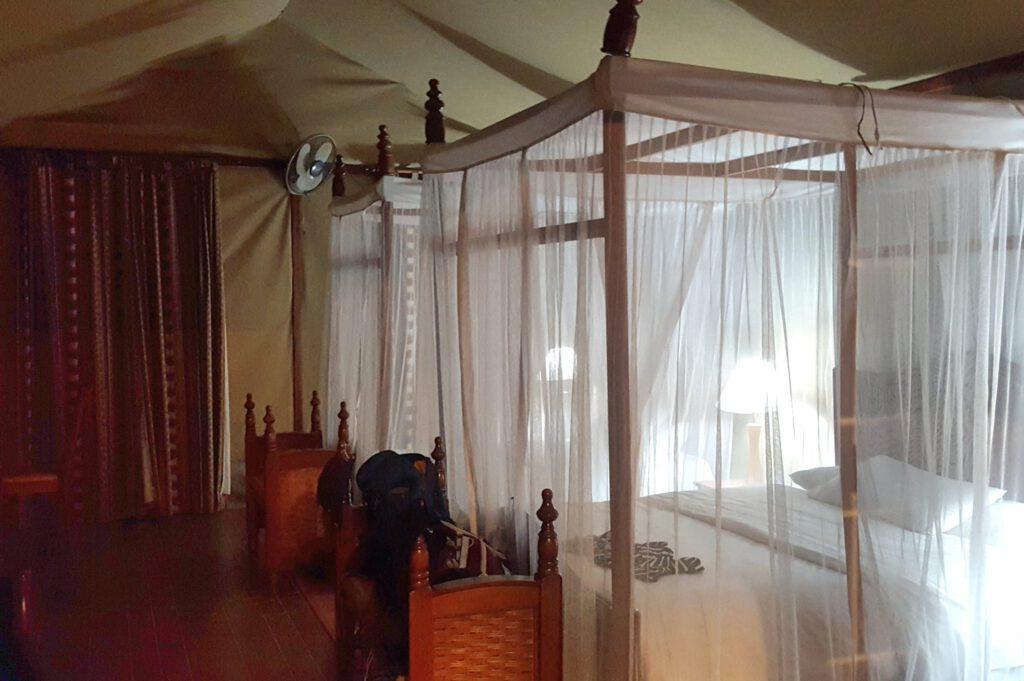 Amboseli Nationalpark - Zelt