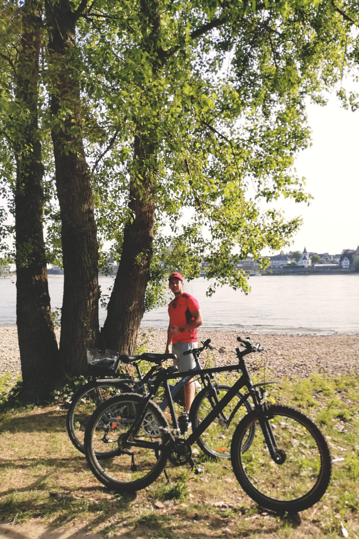 Unsere Räder beim Radfahren im Rheinland