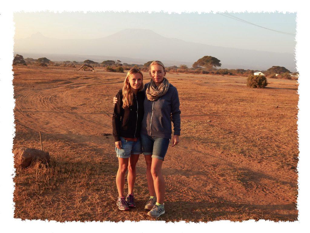 Reisen mit Mama auf Safari in Kenia