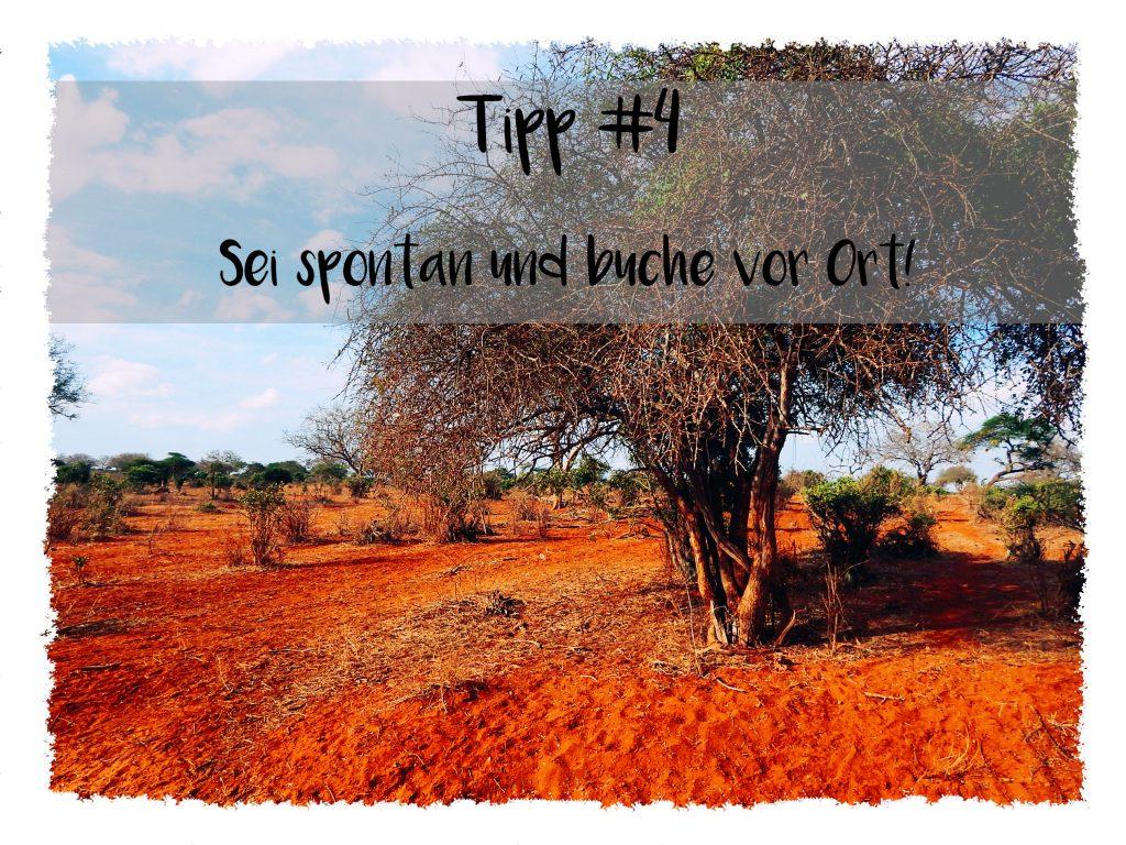 Reisetipps für Kenia - Buche vor Ort