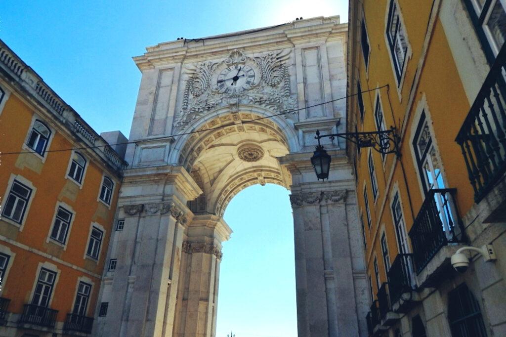 Lissabon - Praca do Comercio