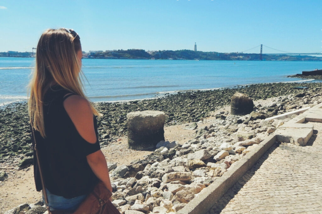 Lissabon - Tejo - Ponte Vasca da Gama