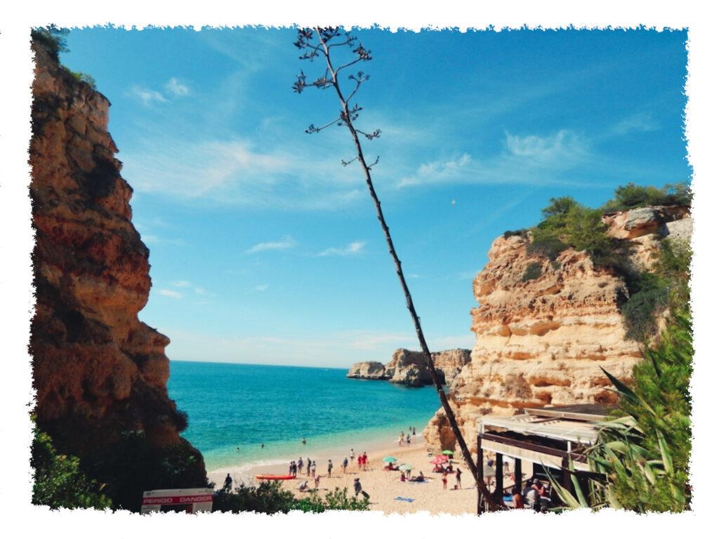 Roadtrip an der Algarve - Praia da Marinha