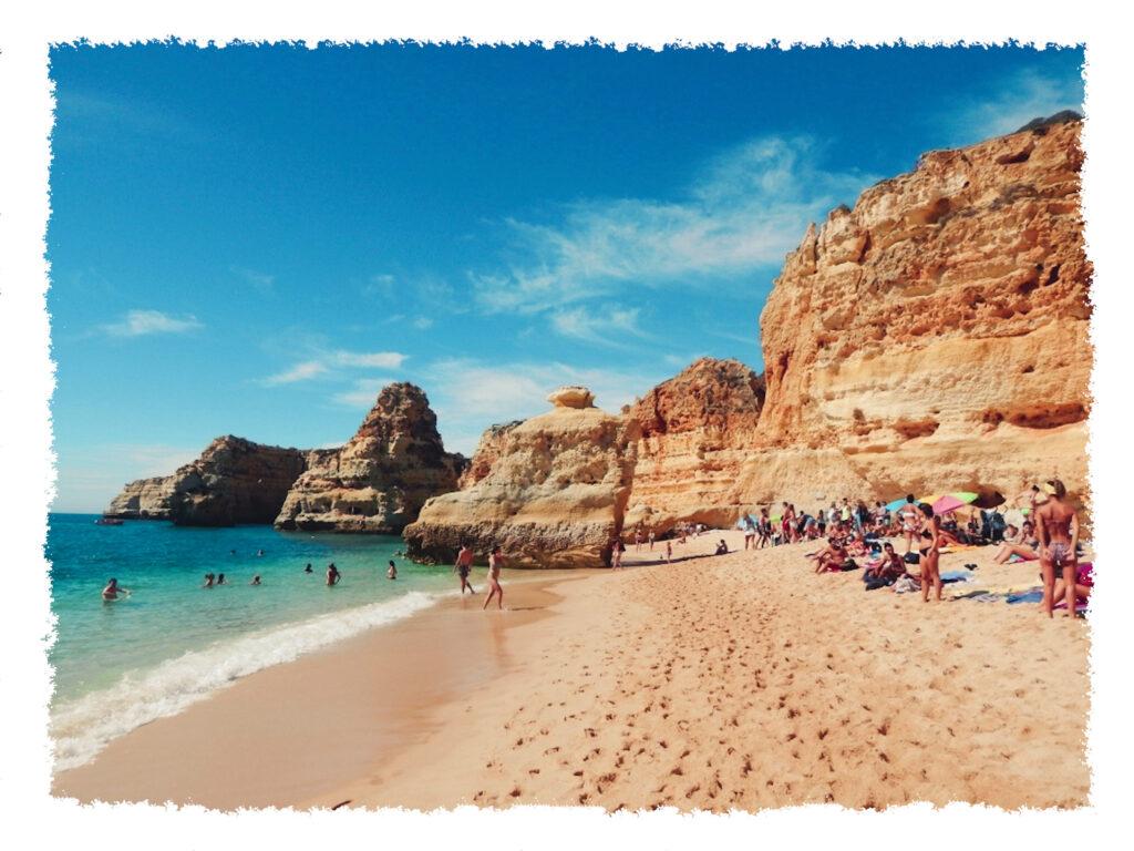 Roadtrip an der Algarve - Praia da Marinha2