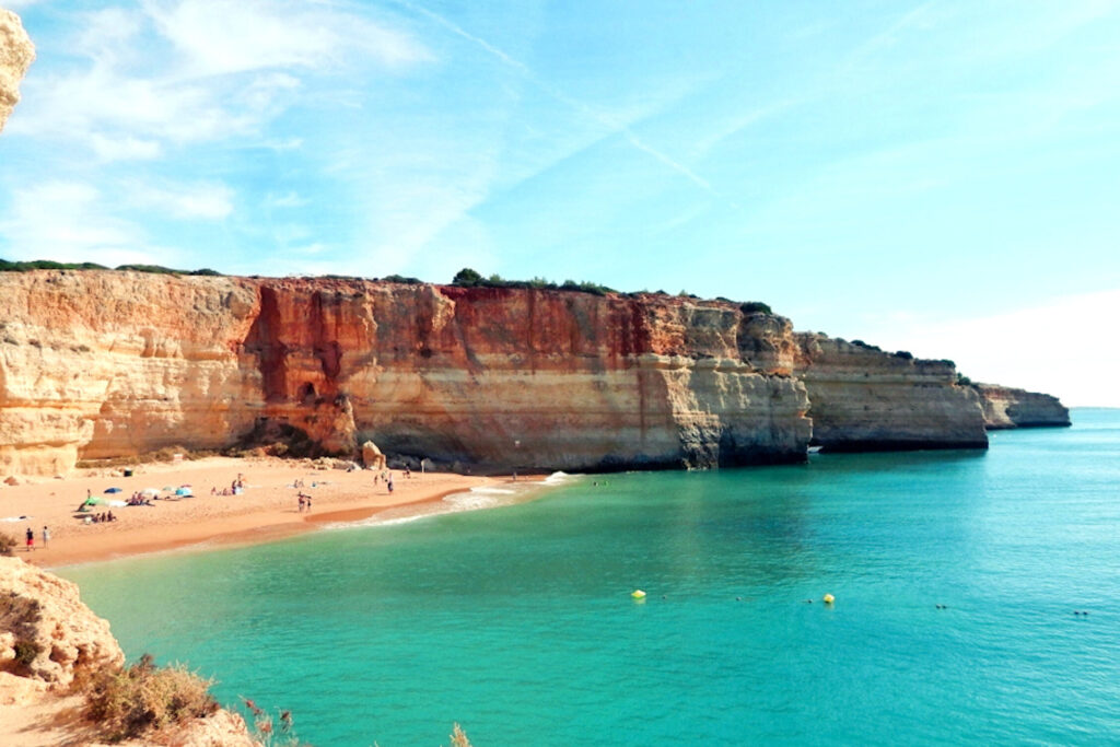 Roadtrip an der Algarve - Praia da Rocha