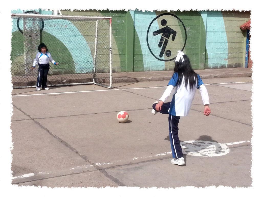 Praktikum in Peru - Sportunterricht