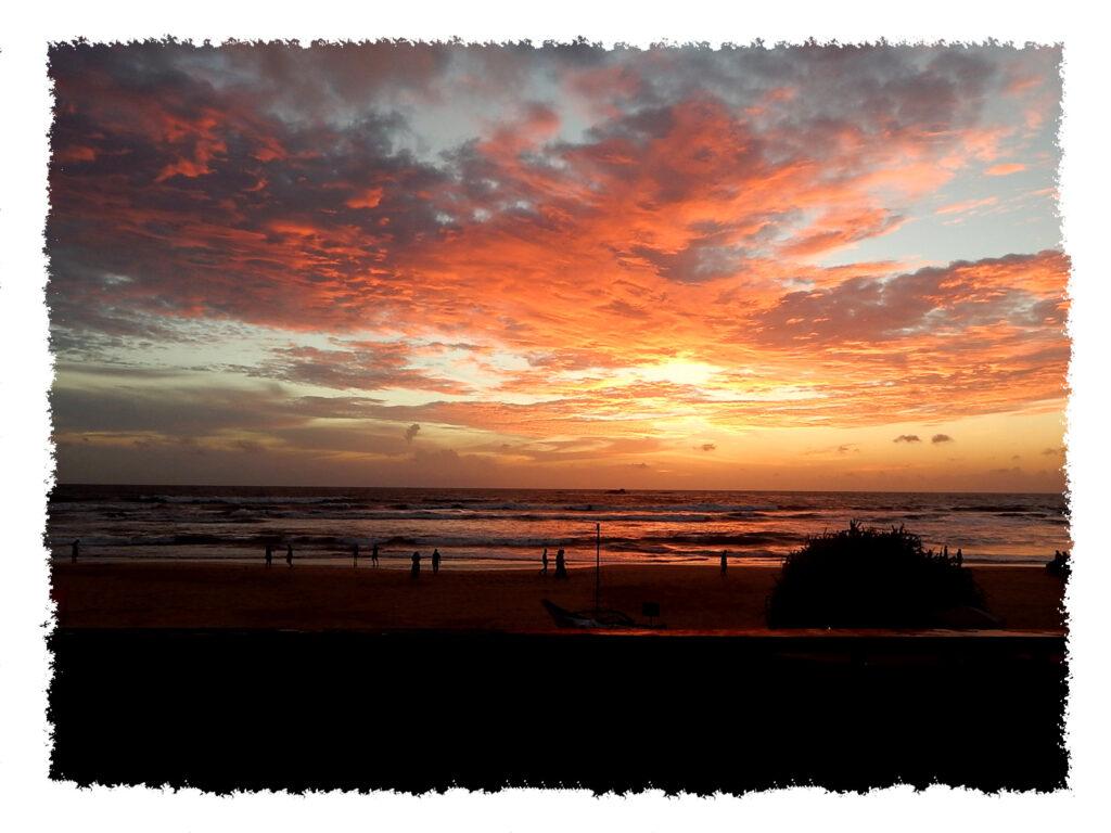 Sri Lanka - Bentota Beach Sonnenuntergang