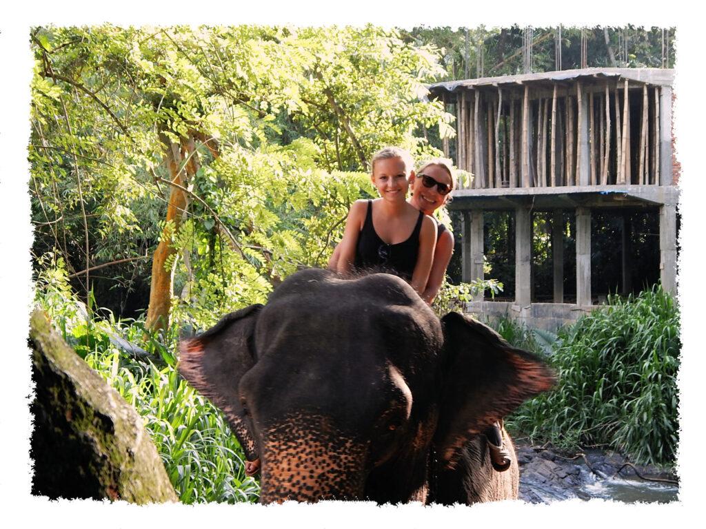 Sri Lanka - Elefantenreiten