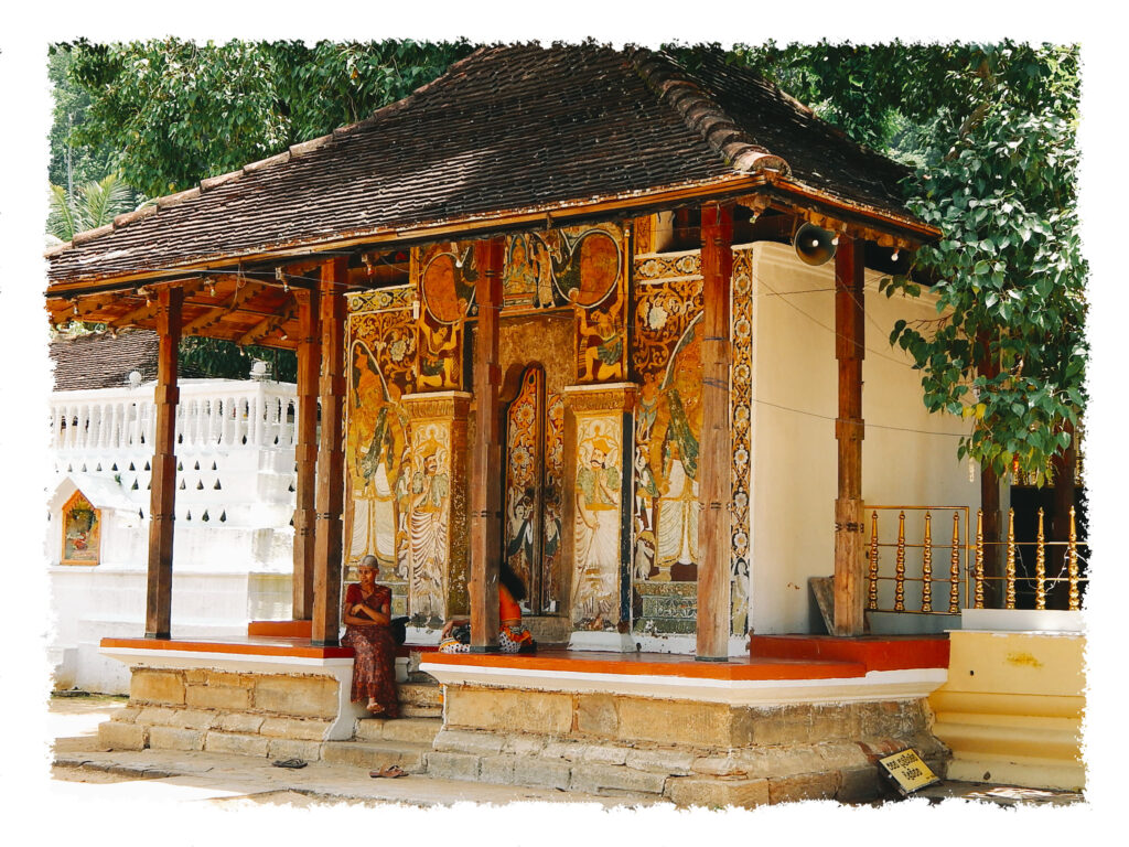 Sri Lanka - Tempel Kandy