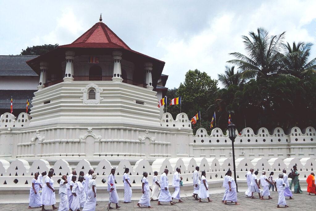 Süden Sri Lanka - Zahntempel