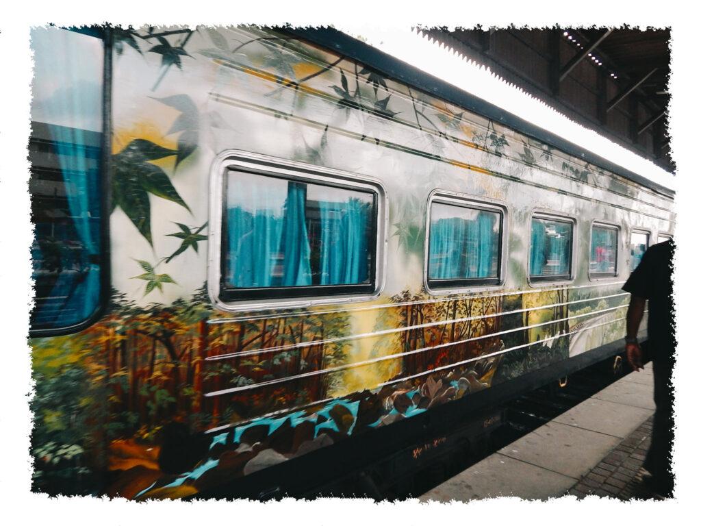 Sri Lanka - Zug nach Kandy