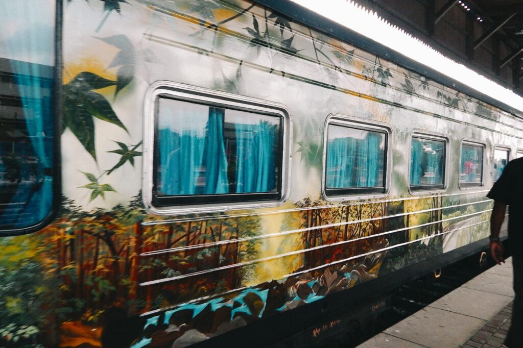 Süden Sri Lanka - Zug nach Kandy