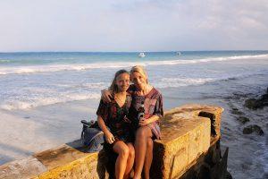 Reisen mit Mama