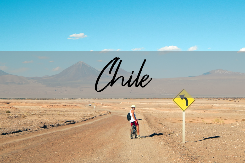 Chile - Atacama Wüste Panorama