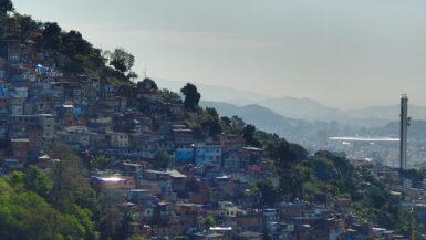 Brasilien - Favela in Rio de Janeiro