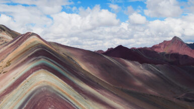 Peru - Rainbow Mountain - Temporäres Naturwunder