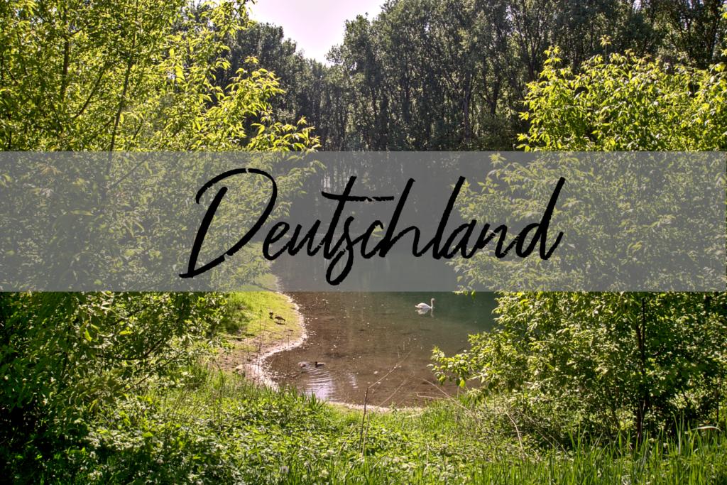 Deutschland Blick auf See