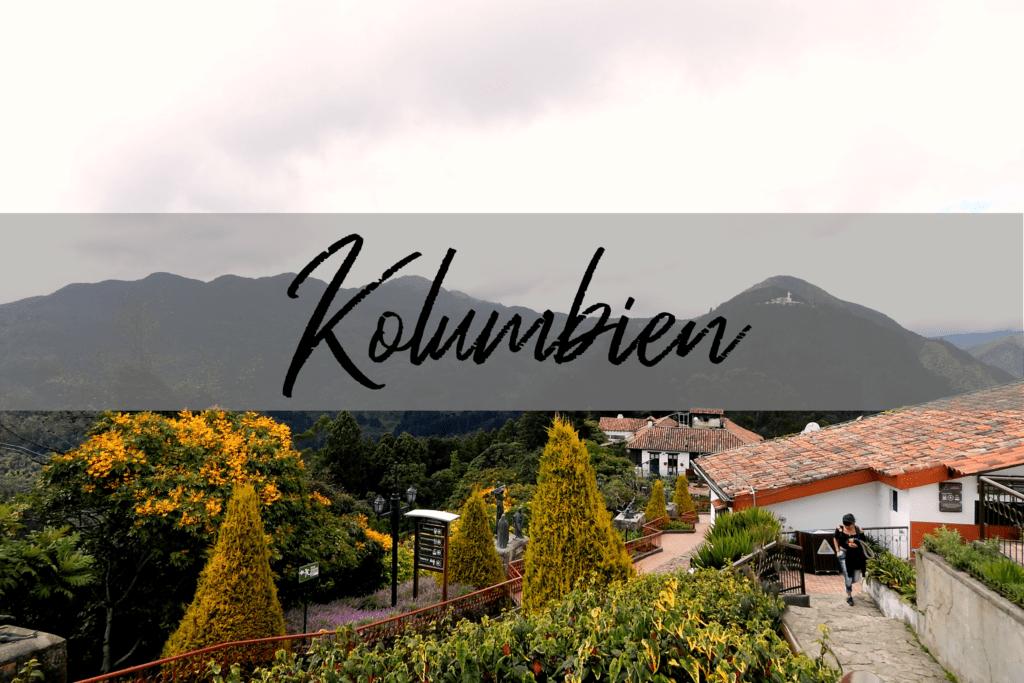 Kolumbien - Andenpanorama Bogotá