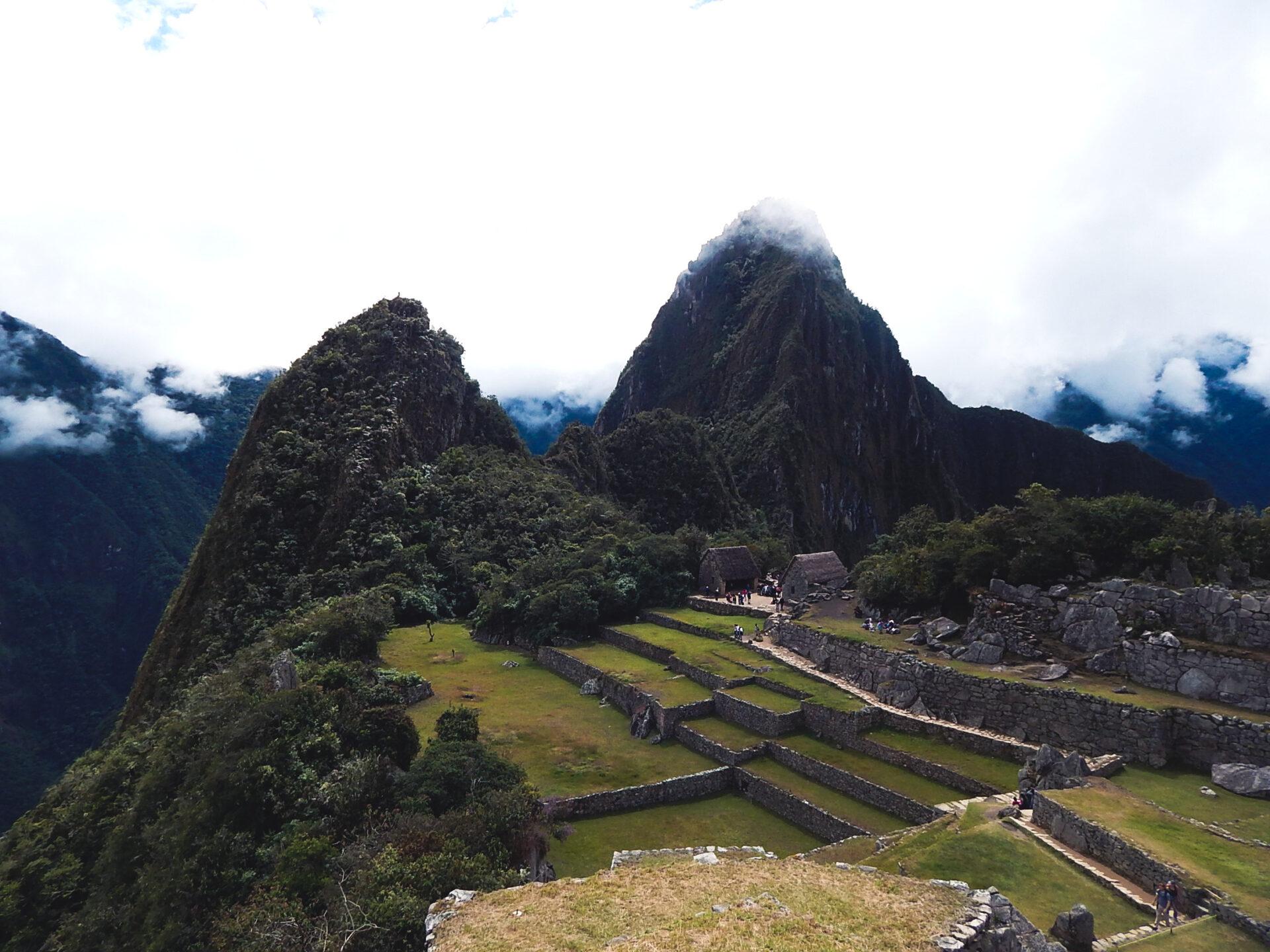Peru - Ausblick auf Machu Picchu